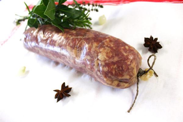 Photographie d'un saucisson à cuire de la société EARL Agriporc